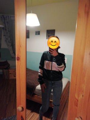 Bershka Chaleco deportivo rosa claro-verde oscuro