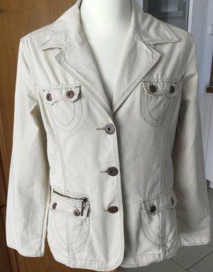 Cecil Marynarka jeansowa kremowy