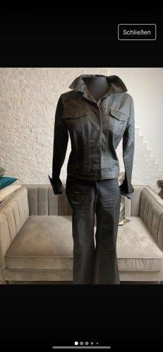 Personal Affairs Tailleur-pantalon brun noir