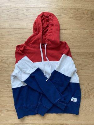 Sportlicher Kapuzen-Pullover
