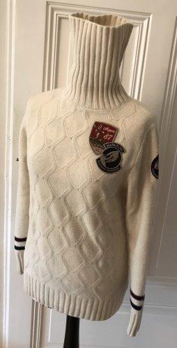 Napapijri Turtleneck Sweater natural white