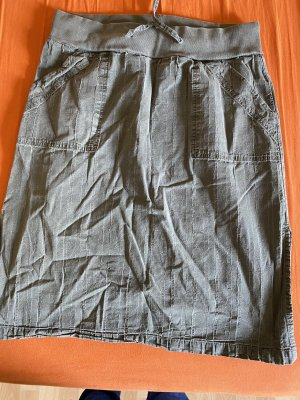 Only Cargo Skirt grey