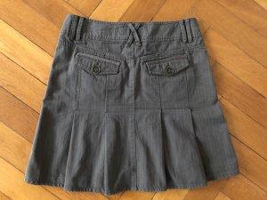 Esprit de Corp Plaid Skirt khaki-olive green
