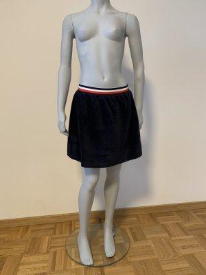 En Cremé Minifalda azul