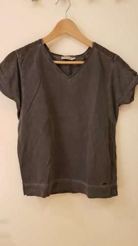 Sportliches Calvin Klein-T-shirt mit transparenten Ärmelchen