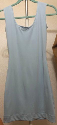 Vestido cut out azul claro