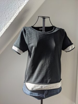Urban Classics T-shirt nero-bianco Cotone