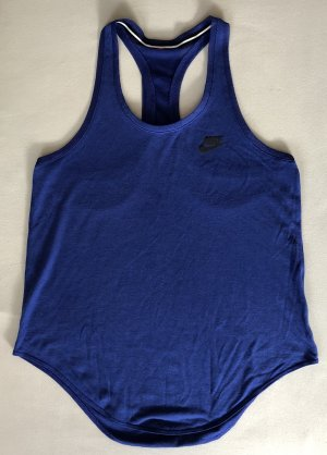 Nike Débardeur de sport bleu