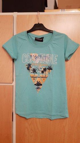 Sportliches türkises T-Shirt Gr.38