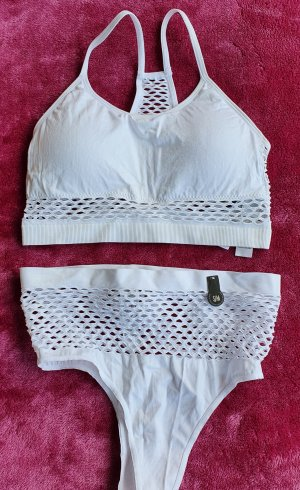 New Yorker Set lingerie bianco Poliammide