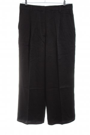 Sportmax Code Bundfaltenhose schwarz Business-Look