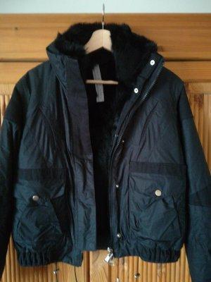 Sportmax Code Jacke, Schnäppchen, schwarz Größe 36