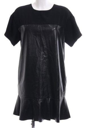 Sportmax Code Kurzarmkleid schwarz Elegant