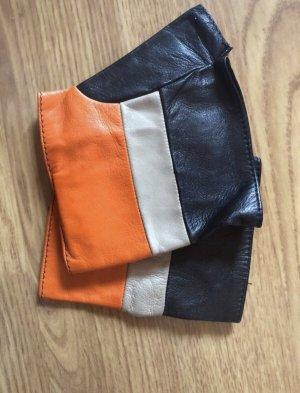 Sportmax Designer Lederhandschuhe