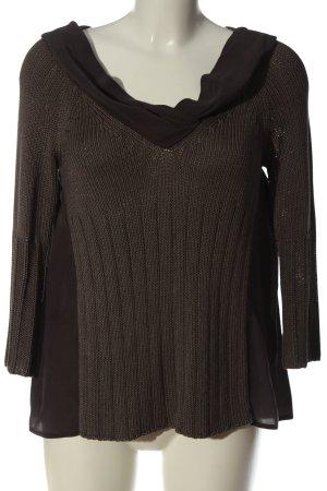 Sportmax Fine Knit Jumper brown casual look