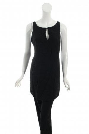 Sportmax Kostüm schwarz schlichter Stil