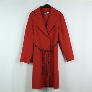 Sportmax Code Abrigo de entretiempo rojo tejido mezclado