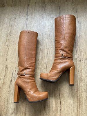 Sportmax Laarzen met hak donker oranje