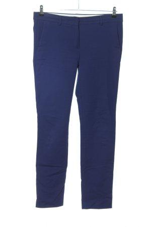Sportmax Stretchhose blau Casual-Look