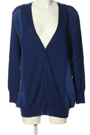 Sportmax Giacca in maglia blu stile casual