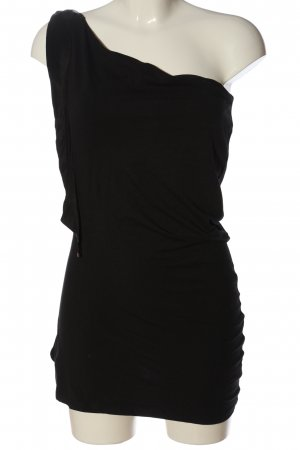 Sportmax One Shoulder Top black elegant