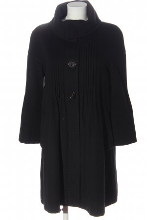 Sportmax Between-Seasons-Coat black casual look