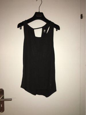 H&M Rugloze top zwart