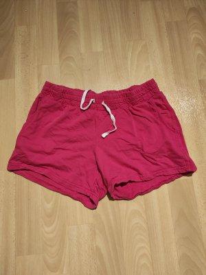 Janina Pantaloncino sport rosso Cotone