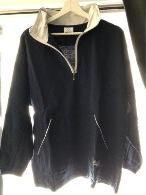 active Sweatshirt donkerblauw-wit
