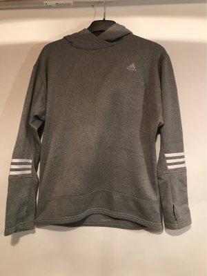 Adidas Pullover in pile grigio chiaro