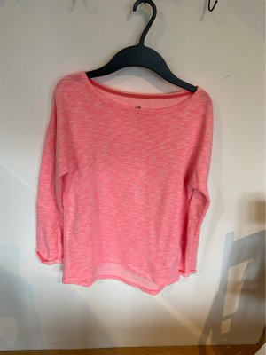 H&M Long Sweater neon pink