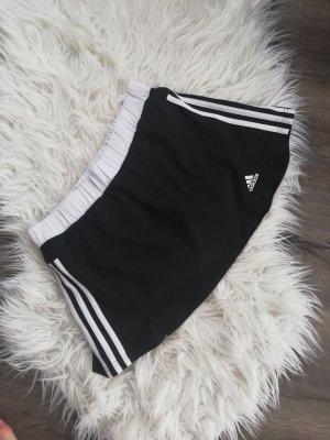 Adidas Jupe skater blanc-noir