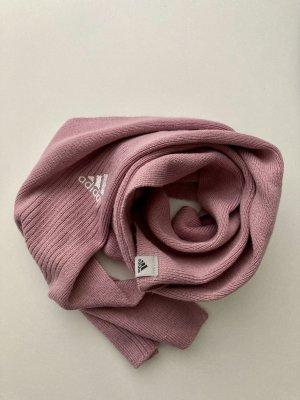Adidas Bufanda de lana malva-rosa empolvado
