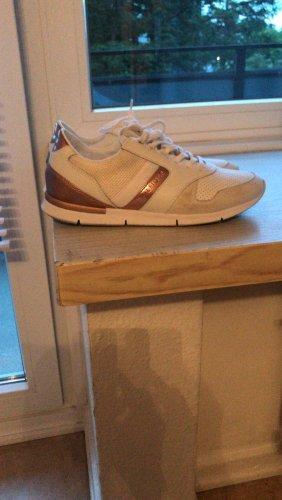 Tommy Hilfiger Sneaker stringata oro