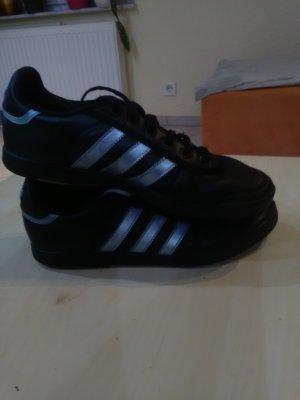 Adidas Sneakers met veters zwart-lichtblauw