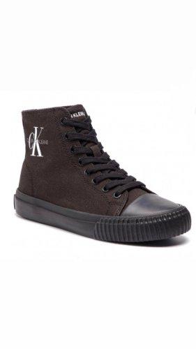 Calvin Klein Jeans Wysokie trampki czarny