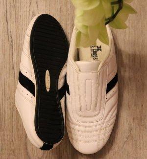 Sportschuhe / Criss Cross / weiß/schwarz / 38
