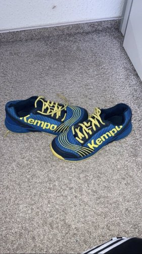 Kempa Zapatilla tipo cuña azul