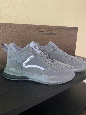 100% Fashion Basket à lacet gris