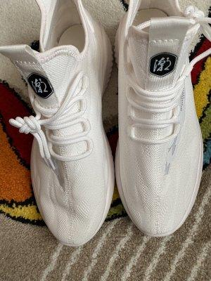 100% Fashion Mocassino bianco