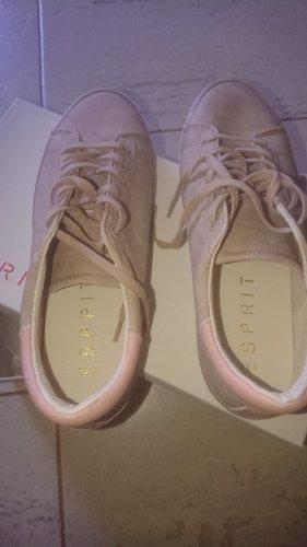 Esprit Lace Shoes cream leather
