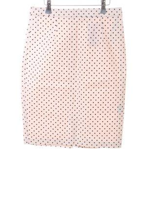 Sportsgirl Pencil Skirt cream-black spot pattern casual look