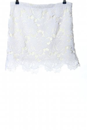 Sportsgirl Koronkowa spódnica biały W stylu casual