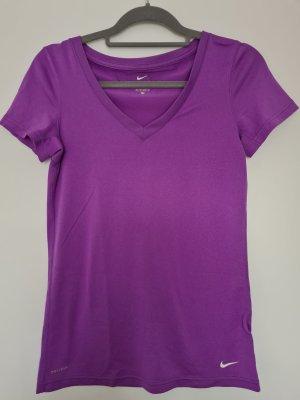 Nike Sports Shirt lilac-lilac