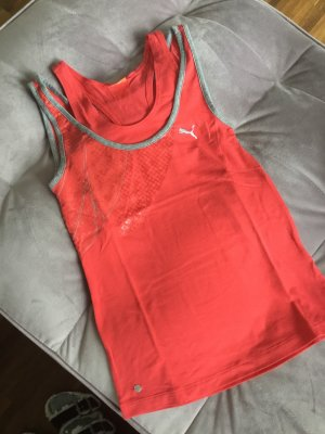 Puma Sportshirt lichtrood-zalm
