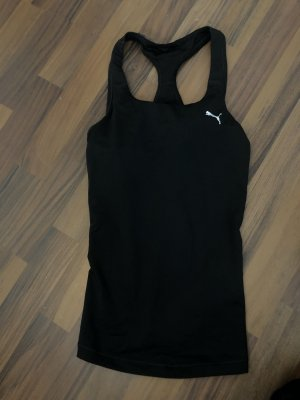 Puma Off the shoulder top zwart