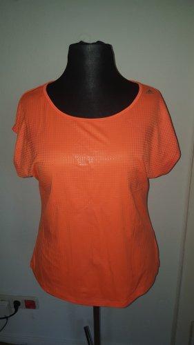 Adidas Maglietta sport arancio neon