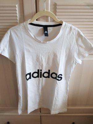 Adidas Camisa deportiva blanco-negro
