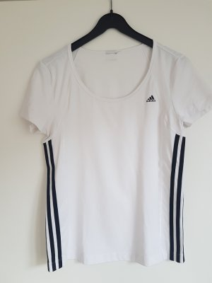 Sportshirt adidas climalite weiß