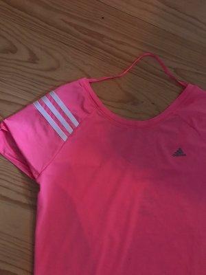 Adidas Camisa deportiva rosa neón-rosa